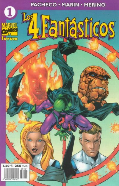 Cover for Los 4 Fantásticos (Planeta DeAgostini, 2001 series) #1
