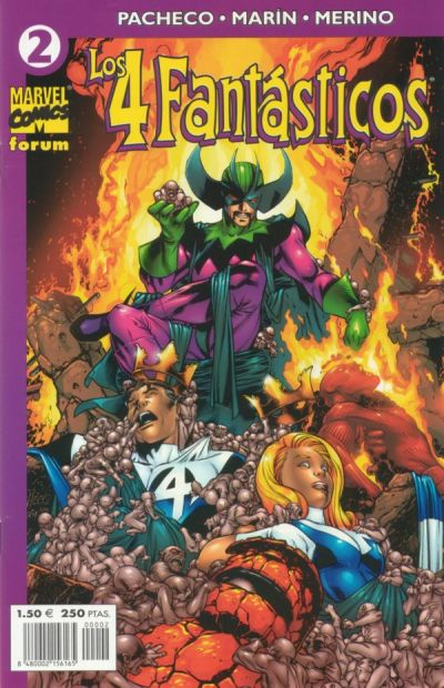 Cover for Los 4 Fantásticos (Planeta DeAgostini, 2001 series) #2