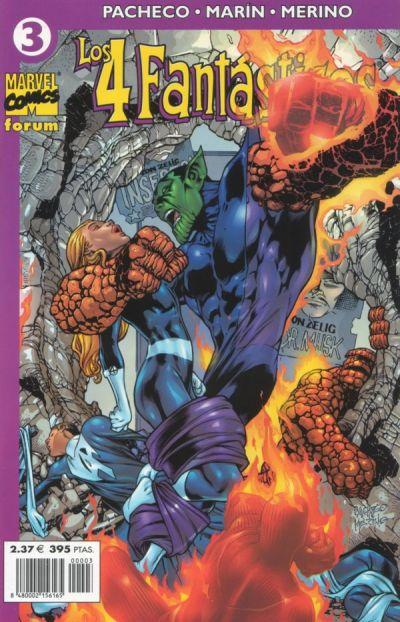 Cover for Los 4 Fantásticos (Planeta DeAgostini, 2001 series) #3