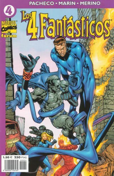 Cover for Los 4 Fantásticos (Planeta DeAgostini, 2001 series) #4