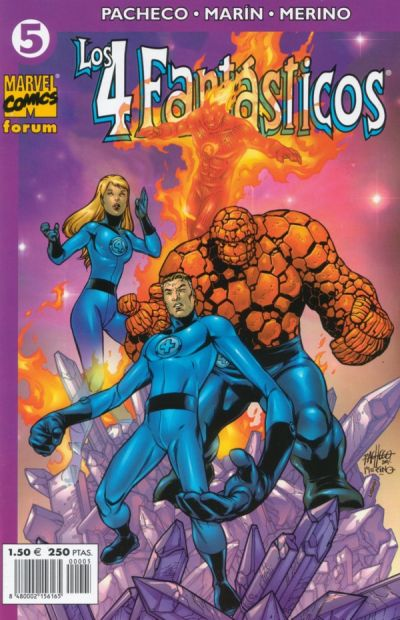 Cover for Los 4 Fantásticos (Planeta DeAgostini, 2001 series) #5