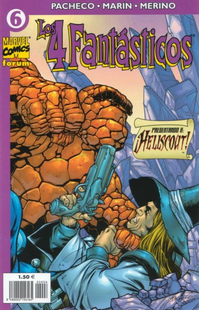 Cover for Los 4 Fantásticos (Planeta DeAgostini, 2001 series) #6