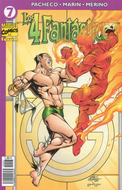 Cover for Los 4 Fantásticos (Planeta DeAgostini, 2001 series) #7