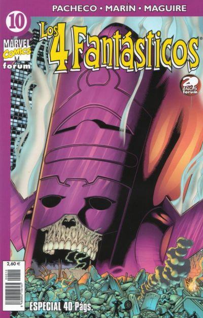 Cover for Los 4 Fantásticos (Planeta DeAgostini, 2001 series) #10