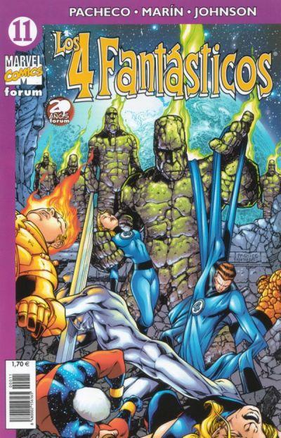 Cover for Los 4 Fantásticos (Planeta DeAgostini, 2001 series) #11