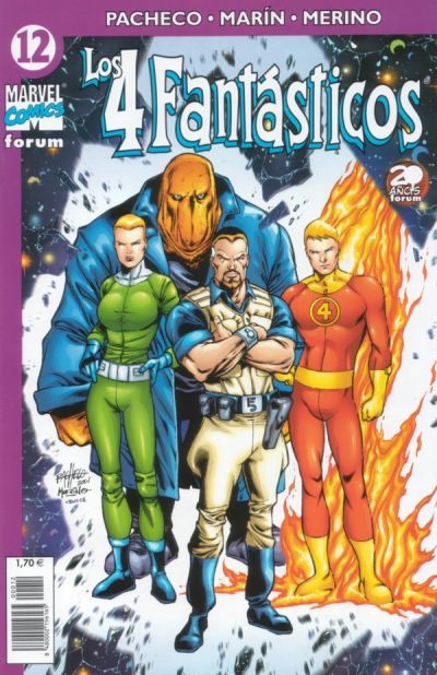 Cover for Los 4 Fantásticos (Planeta DeAgostini, 2001 series) #12