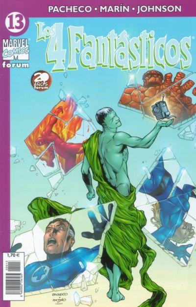 Cover for Los 4 Fantásticos (Planeta DeAgostini, 2001 series) #13