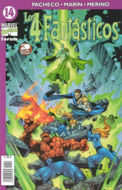 Cover for Los 4 Fantásticos (Planeta DeAgostini, 2001 series) #14