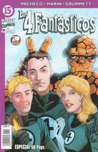 Cover for Los 4 Fantásticos (Planeta DeAgostini, 2001 series) #15