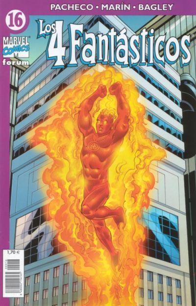 Cover for Los 4 Fantásticos (Planeta DeAgostini, 2001 series) #16