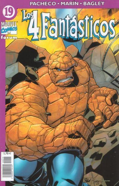 Cover for Los 4 Fantásticos (Planeta DeAgostini, 2001 series) #19