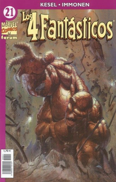 Cover for Los 4 Fantásticos (Planeta DeAgostini, 2001 series) #21
