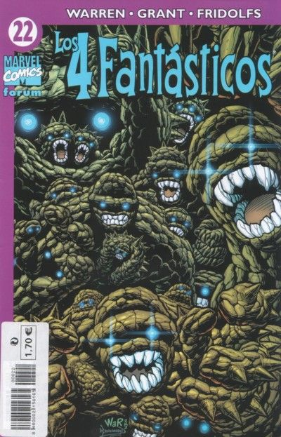 Cover for Los 4 Fantásticos (Planeta DeAgostini, 2001 series) #22