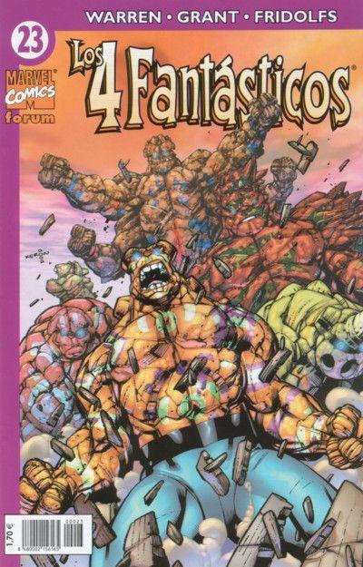 Cover for Los 4 Fantásticos (Planeta DeAgostini, 2001 series) #23