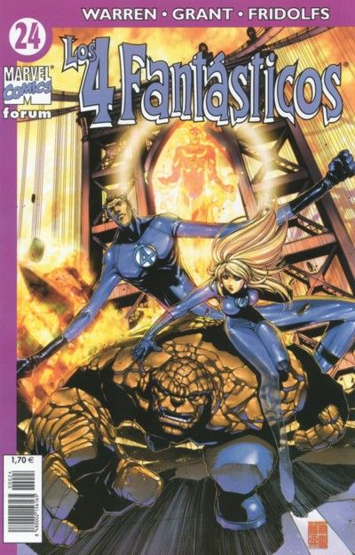 Cover for Los 4 Fantásticos (Planeta DeAgostini, 2001 series) #24