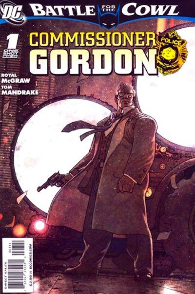 Cover for Batman: Battle for the Cowl: Commissioner Gordon (DC, 2009 series) #1