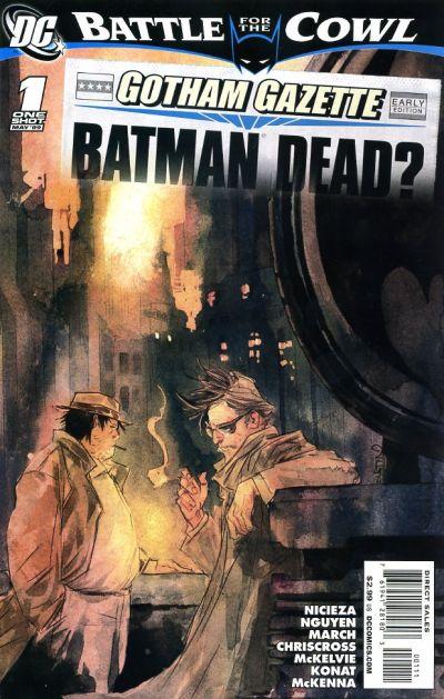 Cover for Gotham Gazette (DC, 2009 series) #1