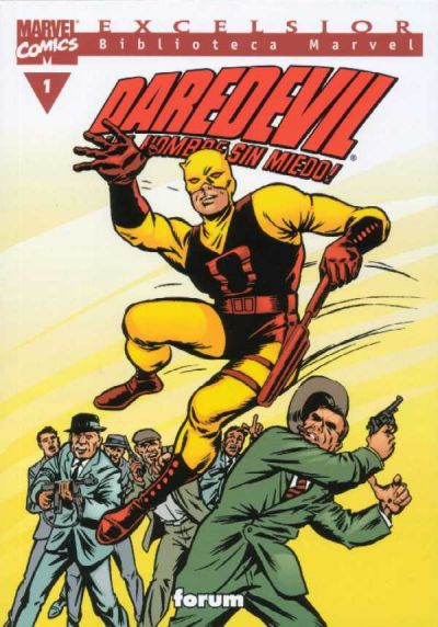 Cover for Biblioteca Marvel: Daredevil (Planeta DeAgostini, 2001 series) #1