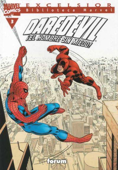 Cover for Biblioteca Marvel: Daredevil (Planeta DeAgostini, 2001 series) #3