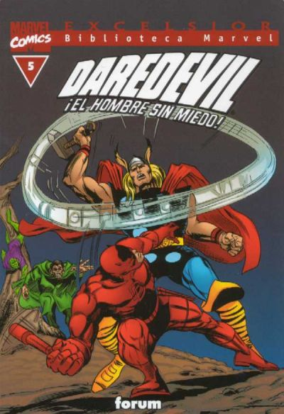 Cover for Biblioteca Marvel: Daredevil (Planeta DeAgostini, 2001 series) #5