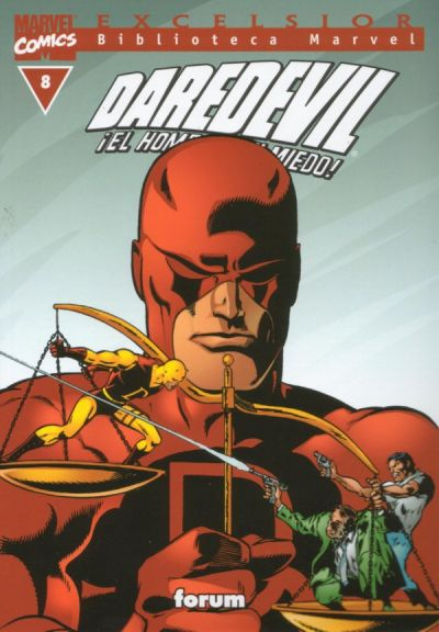 Cover for Biblioteca Marvel: Daredevil (Planeta DeAgostini, 2001 series) #8