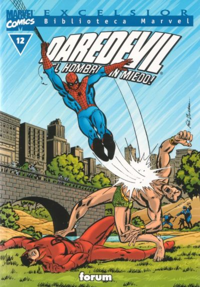 Cover for Biblioteca Marvel: Daredevil (Planeta DeAgostini, 2001 series) #12