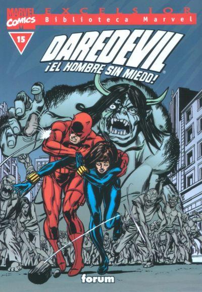 Cover for Biblioteca Marvel: Daredevil (Planeta DeAgostini, 2001 series) #15