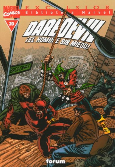 Cover for Biblioteca Marvel: Daredevil (Planeta DeAgostini, 2001 series) #20