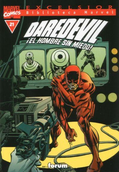 Cover for Biblioteca Marvel: Daredevil (Planeta DeAgostini, 2001 series) #21