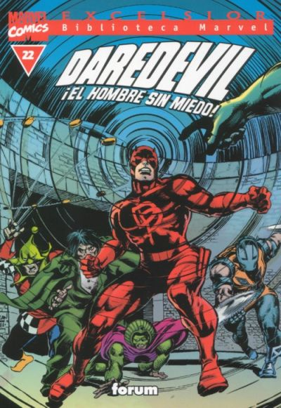 Cover for Biblioteca Marvel: Daredevil (Planeta DeAgostini, 2001 series) #22