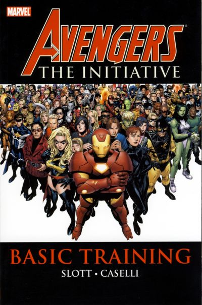 Cover for Avengers: The Initiative (Marvel, 2008 series) #1 - Basic Training