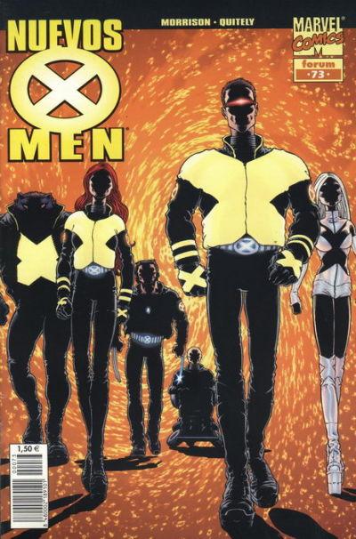 Cover for X-Men (Planeta DeAgostini, 2002 series) #73