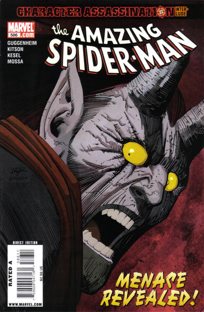 Cover for The Amazing Spider-Man (Marvel, 1999 series) #586
