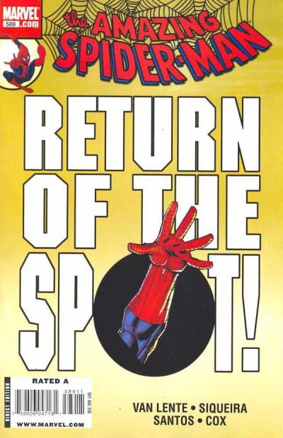 Cover for The Amazing Spider-Man (Marvel, 1999 series) #589