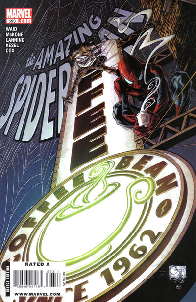 Cover for The Amazing Spider-Man (Marvel, 1999 series) #593
