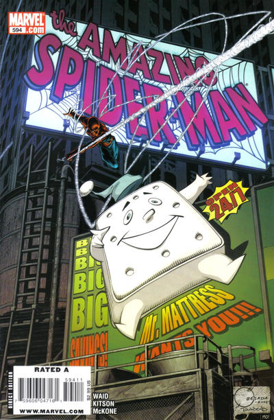Cover for The Amazing Spider-Man (Marvel, 1999 series) #594