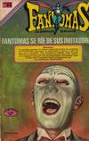 Cover for Fantomas (Editorial Novaro, 1969 series) #54