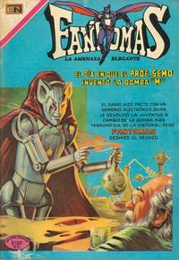 Cover Thumbnail for Fantomas (Editorial Novaro, 1969 series) #31