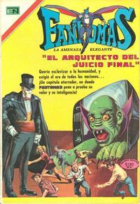 Cover Thumbnail for Fantomas (Editorial Novaro, 1969 series) #45