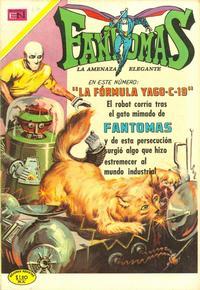 Cover Thumbnail for Fantomas (Editorial Novaro, 1969 series) #47