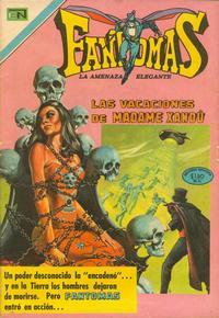 Cover Thumbnail for Fantomas (Editorial Novaro, 1969 series) #50
