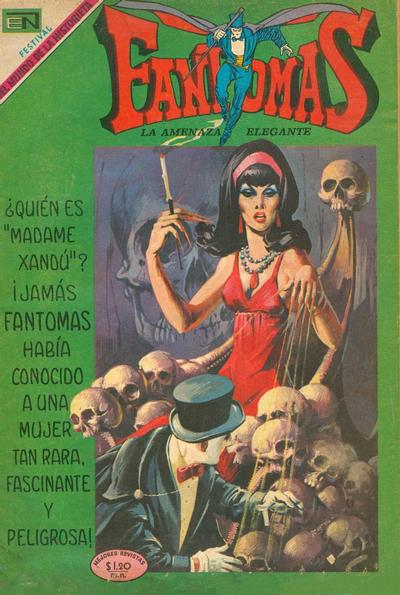 Cover for Fantomas (Editorial Novaro, 1969 series) #20