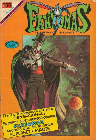 Cover for Fantomas (Editorial Novaro, 1969 series) #22