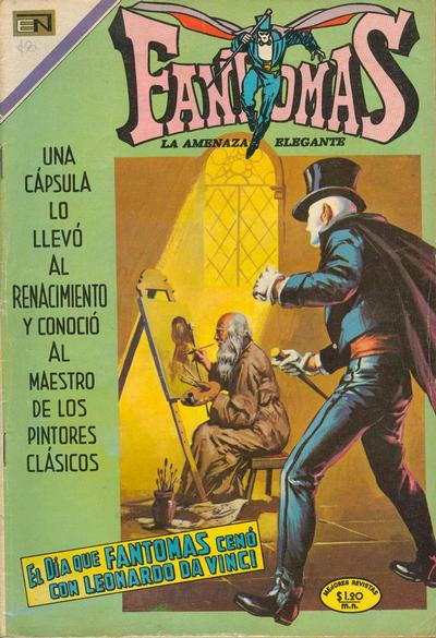 Cover for Fantomas (Editorial Novaro, 1969 series) #26