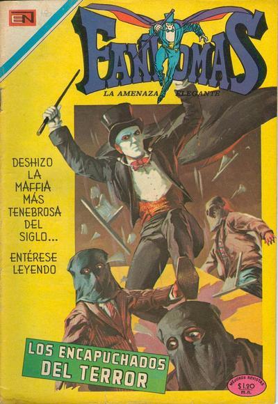 Cover for Fantomas (Editorial Novaro, 1969 series) #27
