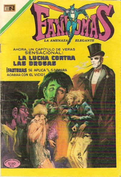 Cover for Fantomas (Editorial Novaro, 1969 series) #33
