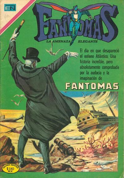 Cover for Fantomas (Editorial Novaro, 1969 series) #36