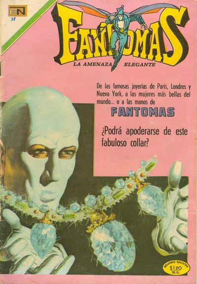 Cover for Fantomas (Editorial Novaro, 1969 series) #38