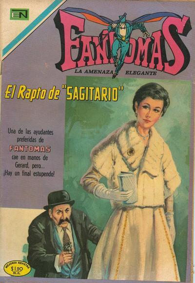 Cover for Fantomas (Editorial Novaro, 1969 series) #39
