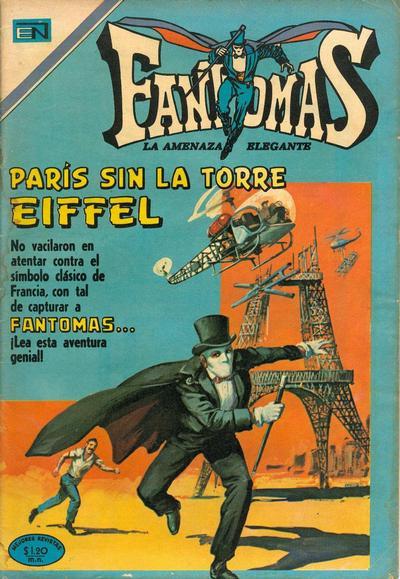 Cover for Fantomas (Editorial Novaro, 1969 series) #41